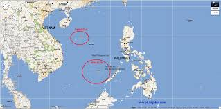 World Map With Seas by South China Sea Turmoil U0027cold War U0027 Heats Up As Obama Declares To
