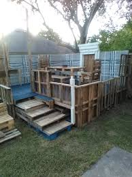 Seating Out Of Pallets by Pallet Decks Pallet Terraces U0026 Patios U2022 1001 Pallets