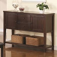 Living Room Storage Cabinets Melbourne Melbourne Door Buffet Server With Drawers U0026 Lower Shelf