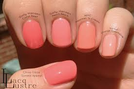 coral reef nail polish nails gallery