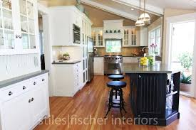 Kitchen With Vaulted Ceilings Ideas by Remodelaholic Stiles Fischer Interior Design Blog Intro