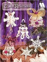 crochet reflections 13 globe bell ornaments