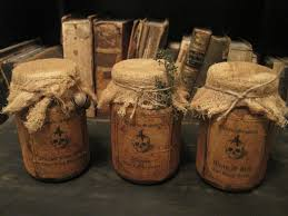 halloween jar labels witch potion jars miniatures hand made pinterest witches