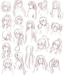 basics female hairstyles text girls how to draw manga anime