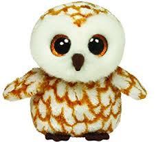 amazon ty beanie boos swoops brown barn owl plush toys u0026 games