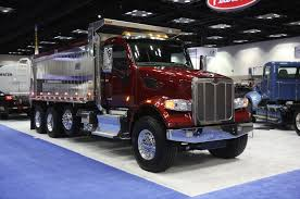 peterbilt show trucks the 2015 ntea work truck show