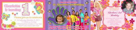 invitations 4 kids personalised invitations australia