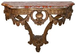 Wall Console Table Giltwood Wall Console Table Early 19th Century Ref 60278
