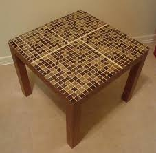 ikea hackers lack tables tiled idea turn coffee table into
