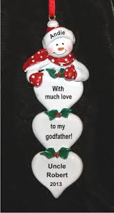 lots of from godchild to godfather ornament