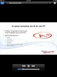 Grade Your Resume How To Prepare Your Resume On Iphone 4 Resume Apps Iphoneness