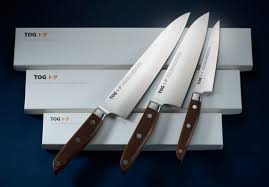 set of 3 u2013 u0027petty u0027 u0027santoku u0027 u0026 u0027gyuto u0027 tog japanese kitchen knives