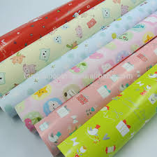cheap lovely baby pattern gift wrapping paper gift wrap roll wrap