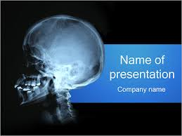 Radiology Powerpoint Template human skull powerpoint template backgrounds id 0000001853