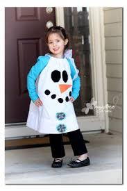 Sew Can Do Make A Cuddly Cute Pumpkin Costume Without A Pattern by Pillowcase Snowman Dress