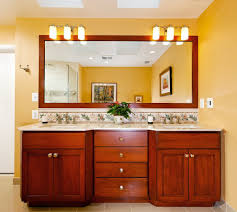 Powder Room Decorating Ideas Long Horizontal Handle Frameless Portrait Bathroom Mirrors Lowes
