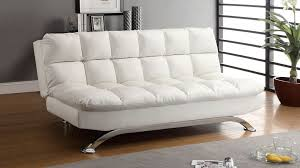 White Leather Sofa Bed Uk Great Attractive Leather Sofa Bed Cheap With Regard To Home Plan