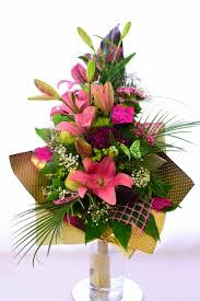 Asian Lilies A Bouquet Of Lilies Delivery Of Flowers