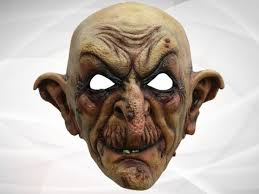 creepy mask mask the wizard