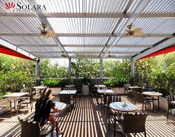 Outdoor Sitting Area Solara Patio Cover Gallery