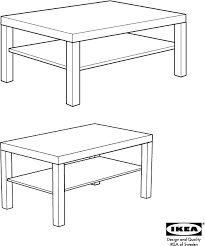 ikea tables lack coffee table 35x22x18