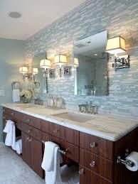 bathroom glass mosaic tile backsplash ideas bathroom backsplash