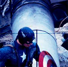 my gif captain america steve rogers bucky barnes steve x bucky