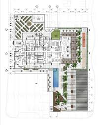 Podium Floor Plan by Phoenix Museum Tower William Jencks Company