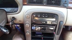 lexus sc300 ignition switch push start lexus sc300 youtube