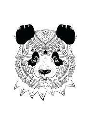 Coloriages Danimaux A Imprimer Panda A Document Coloriage Danimaux A