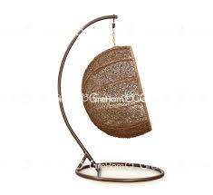 Indoor Hanging Swing Chair Egg Shaped Rattan Furniture Egg Shaped Wicker Hanging Swing Chair Buy Egg