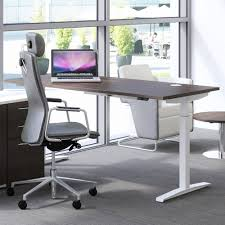 Adjustable Desk Standing Sitting by Hirise Sit Stand Desk Single Standing Desk Height Adjustable