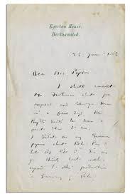 lot detail j m barrie autograph letter signed about his famous