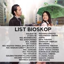 film pengorbanan cinta when a man fall in love box office movie indonesia boxofficemovie twitter