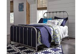 nashburg twin metal bed ashley furniture homestore