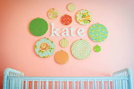 Wall Decor Girl Nursery Fanciful Baby Girl Art Nursery Wall Room