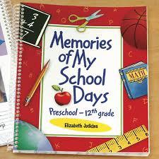 school days keepsake album school days memory book school memory book walter