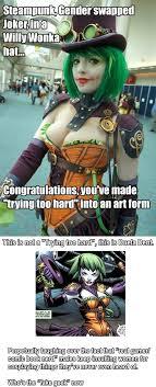 Fake Geek Girl Meme - who s the fake geek now cosplay superheroes and comic