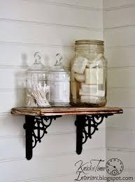 Farmhouse Bathroom Ideas What To Put In Glass Jars In Bathroom Descargas Mundiales Com