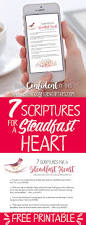 7 scriptures for a steadfast heart being confident of this