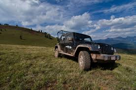 jeep beer tire cover sunset dinner atv tour lakota guides