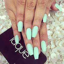 instagram post by laquenailbar laquenailbar mint nails mint