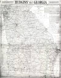 Atlanta Georgia Map Maps 1915 Georgia Map Georgiainfo