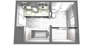 jack and jill bathroom plans creating a solution for a jack and jill bathroom in a 1970s home