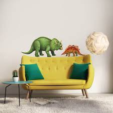 giant triceratops wall sticker learn how to create a dinosaur triceratops dinosaur wall decal sticker