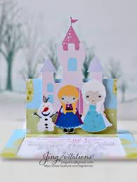 frozen party invitations princess elsa ana and olaf jingvitations