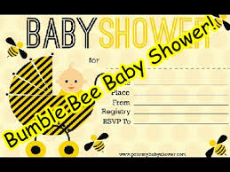 bumble bee baby shower theme bumble bee baby shower printable decorations