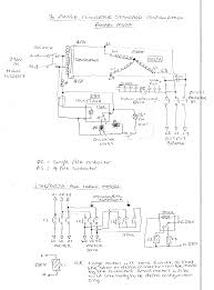 3 phase motor schematic wiring diagram components