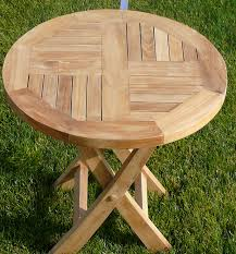 Mini Folding Table Indoor And Outdoor Quality Teak Furniture Home Patio Pool