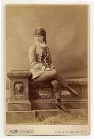 Victorian Time by 1890 Victorian Burlesque Dancers And Their Elaborate Costumes